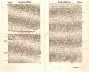 Das Vierdte Buch  Beschreibung aller Länder / so ettwan dem Künigreich  Polandt underworffen sind gewesen / oder sunst mit ihm  zuschaffen gehabt, Cap. lxi. – 7, 8