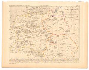 L'ALLEMAGNE  SOUS LES EMPEREUS  DE LA  MAISON DE FRANCONIE  1024 à 1137  Dressés sous la Direction  DE A. HOUZÉ.